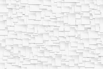 abstract white square pattern background