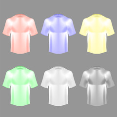 Blank Colorful Cotton t shirt