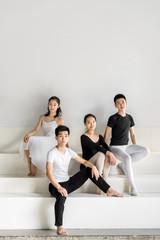 Portrait of professional dancers