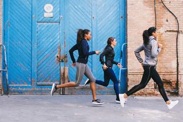 Urban running.