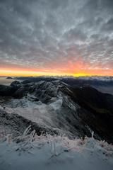 Sunrise from Brienzer Rothorn