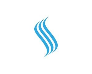 S River Nature Logo Design