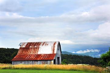 Tin Barn in Ozarks