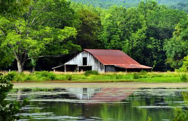 Arkansas Ozark's Rustic Barn