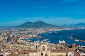 Naples (Campania, Italy) - The historic center of the biggest city of south Italy. Here in...