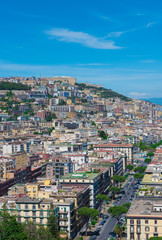 Naples (Campania, Italy) - The historic center of the biggest city of south Italy. Here in particular: the cityscape from Posillipo terrace