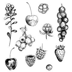 Berry set.