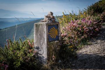 The oldest Camino de Santiago in Spain the