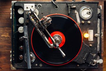 Vintage record lathe