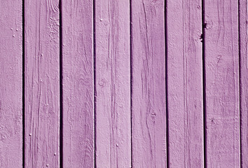 Violet color wood fence pattern.