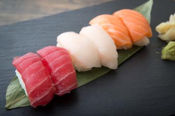 nigiri sushi platter