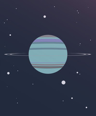 Uranus Illustration