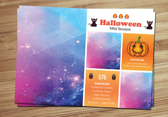 Halloween Special Photography Flyer Layout 4