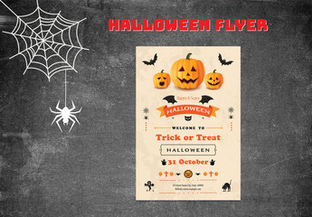 Halloween Party Flyer Layout 5