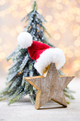 Christmas decor und greeting card. Symbol xmas.