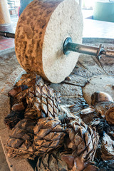 Agave Grinding Wheel