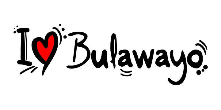 Bulawayo city of Zimbabwe love message
