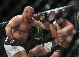 MMA: UFC 192-Jordan vs Magomedov