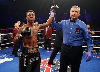 Boxing: Pearson vs El Harrak