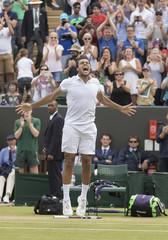 Tennis: Wimbledon  Isner vs Tsonga
