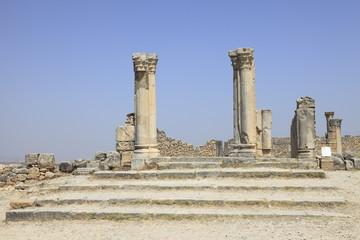 ヴォルビリス遺跡の列柱の邸