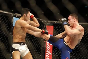 MMA: UFC Fight Night-Covington vs Kim
