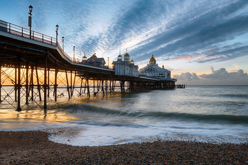 Wall Mural - Dawn at Eastbourne