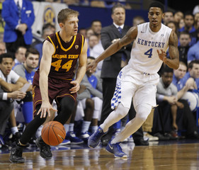 NCAA Basketball: Arizona State at Kentucky