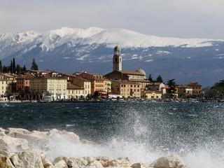Fototapete - Salò - Lago di Garda