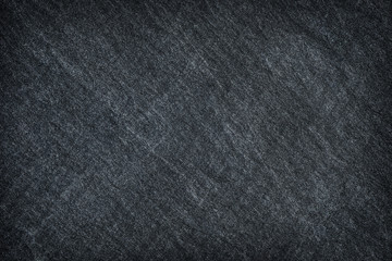 Dark grey stone , black slate stone surface of stone background or texture