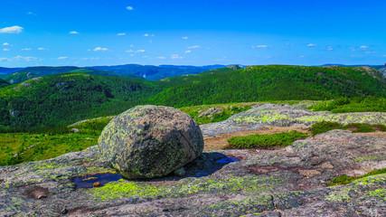Road-tripping in Quebec region - Parc des Grands Jardins Fototapete