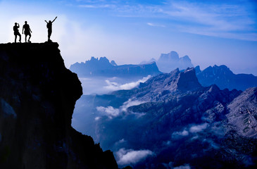 peak mountaineering success