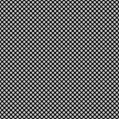 Seamless circle background - vector graphic design from colored dot pattern