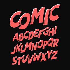 Comics style font
