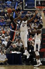 NCAA Basketball: Auburn at Connecticut