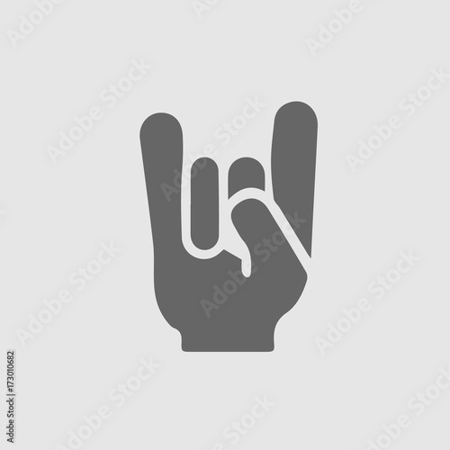 I Love You Sign Hand Gesture Vector Icon Eps 10 Ilu Symbol Stock