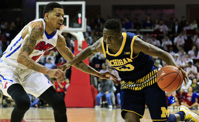 NCAA Basketball: Michigan at Southern Methodist