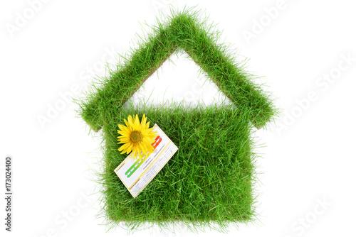 haus wiese energieausweis stockfotos und lizenzfreie bilder auf bild 173024400. Black Bedroom Furniture Sets. Home Design Ideas