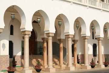 Foto op Aluminium Algerije Style architectural de la ville d'Alger, Algérie