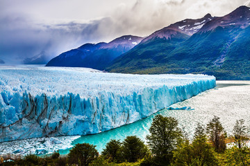 Wall Murals Glaciers Lake Argentine in province of Santa Cruz