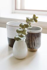 Modern pottery decor