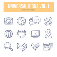 Universal Doodle Icons vol.1