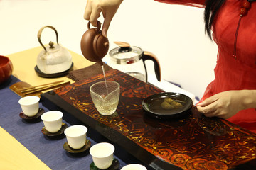 Chinese traditional tea preparation