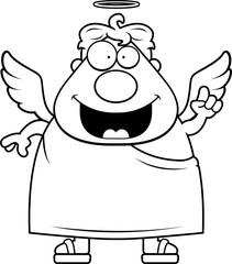Cartoon Angel Idea