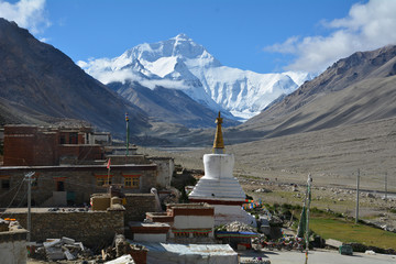 Mt. Everest - View from Tibet