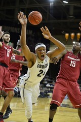 NCAA Basketball: Washington State at Colorado
