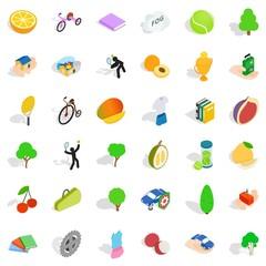 Needed icons set, isometric style