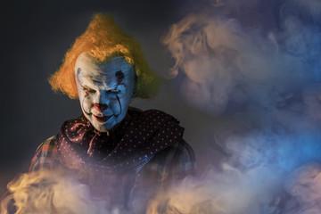 scary Halloween clown Fototapete