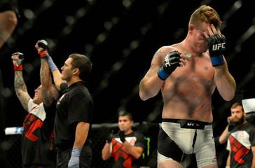MMA: UFC 191-Felder vs Pearson