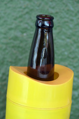 Brazilian bar culture: beer bottle specific cooler